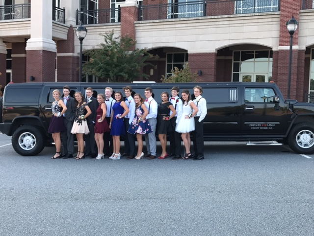 Homecoming Limo Rental Lawrenceville